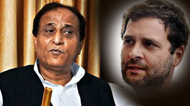 Uttar Pradesh assembly elections, Azam Khan, Rahul Gandhi, Congress, Samajwadi Party, Mulayam Singh Yadav, UP News