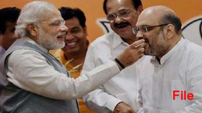 PM Narendra Modi to wishes of BJP President Amit Shah on his 53th birthday