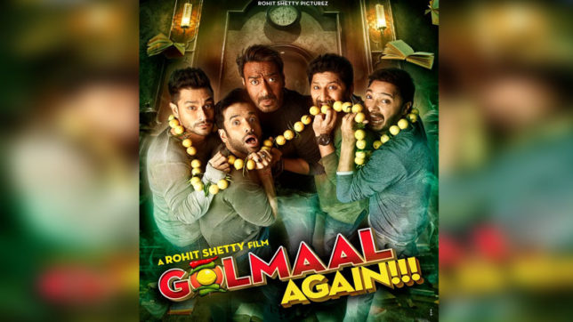 Golmaal again first poster released