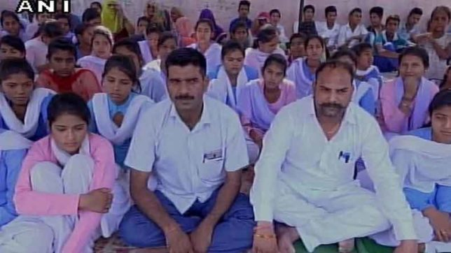 Haryana girls fearing harassment sit on hunger strike for school upgradations