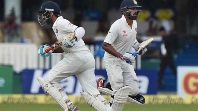fourth day game begans in indiavsnew-zealand indore test day