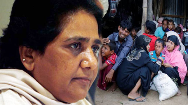 Mayawati attack Modi Government on over Rohingya Muslims