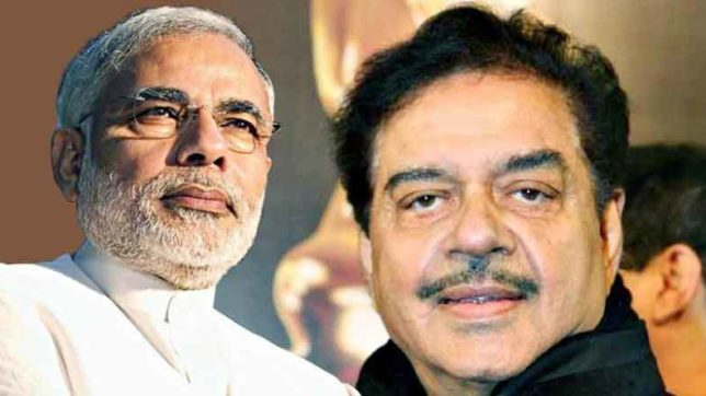 Shatrughan Sinha said Our dashing dynamic action hero PM Modi took right decision at the right time