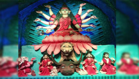 Beautiful Statue of Lord Durga Will make you happy this Navratri