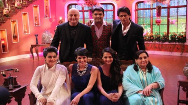 dilwale, comedy night with kapil