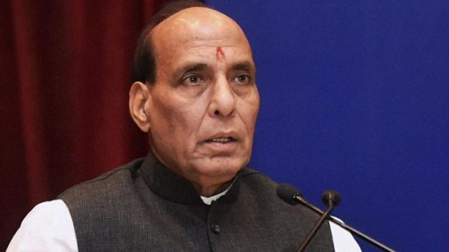 rajasthan cops refuse to give guard of honour to home minister rajnath singh over salary deduction