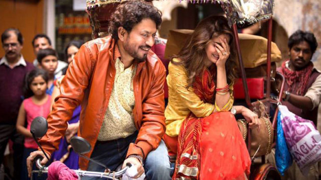 Irrfan Khan,Hindi Medium,hindi medium movie review,Irrfan Khan in Hindi Medium,Film Review,Neha Dhupia,Amrita Singh,Sanjay Suri, hindi news, india news