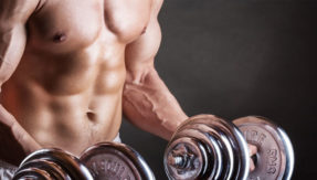 man penis stuck in dumbbell gym at germany