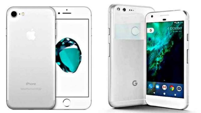 Google pixel, Google pixel XL, google mobile, google smartphone, iPhone7, iPhone7 plus, tech news, hindi tech news, india news