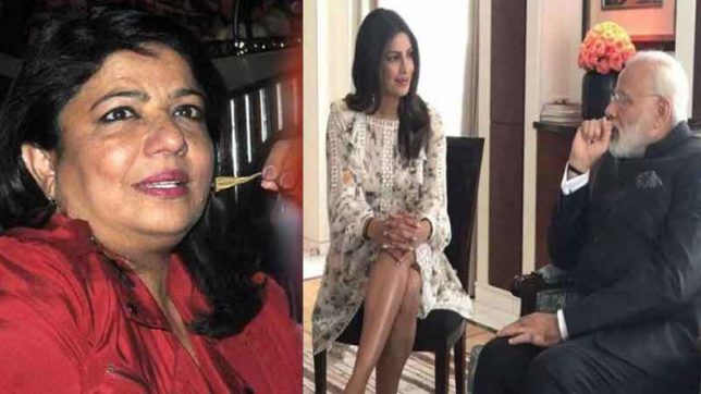 Priyanka mother tell why her daughter wore short dress while meeting with PM modi