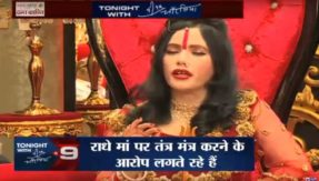 self styled godwoman radhe maa Like Bolliwood the most Filmy Songs were played in her chowki