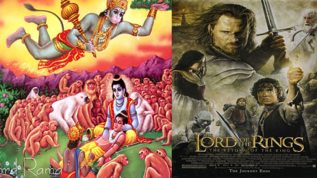 Ramayan and lord of the rings