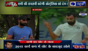India News show ranyudh on India vs australia