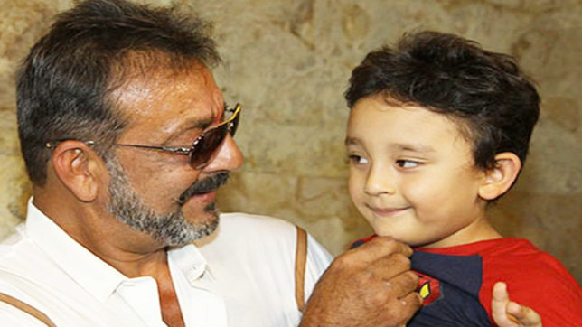 Bollywood star Sanjay Dutt wish his son does not become like him