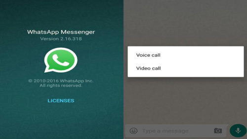 Whatsapp introduce video calling feature
