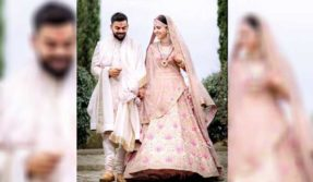 Anushka-Sharma's-Sabyasachi-wedding-lehenga