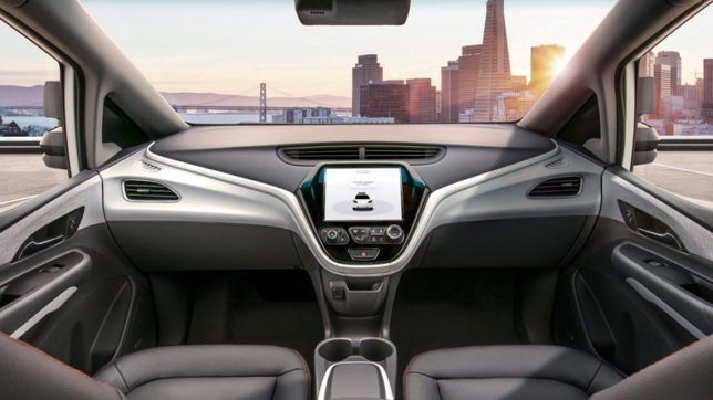 General Motors introduced Cruis car in 2019 without driver Car Which will not include steering and gear