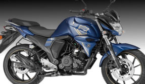 yamaha india launched fzs FI new version with new-color and rear disc brake know specification features and price