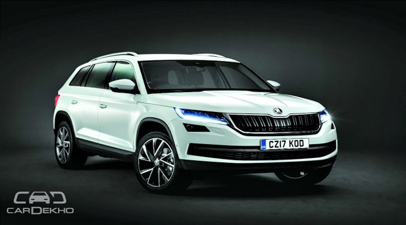 Skoda kodiaq likely to launch in october