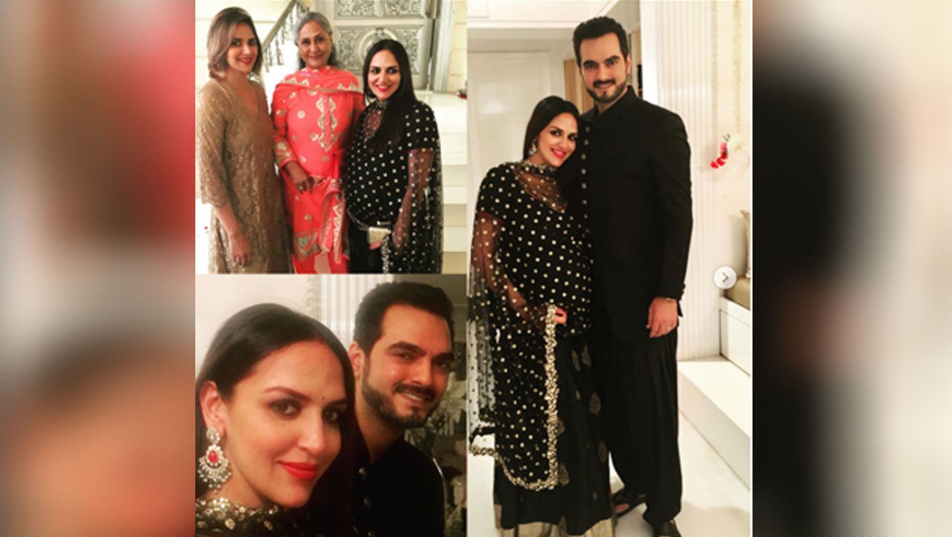 Hema Malini daughters Esha Deol and husband Bharat Takhtani blessed with a baby girl