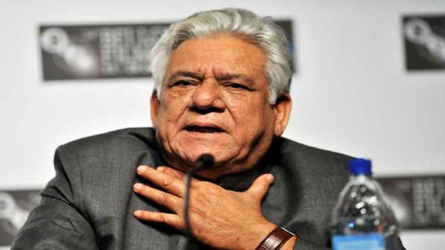 Om Puri, ompuri, pakistani actors, uri attack, Pakistani actors ban, nana patekar, Salman KhanOm Puri, Bollywood, Surgical Strike, Indian Army