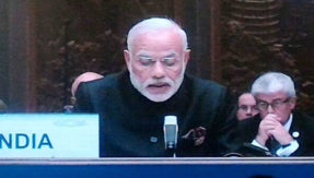 PM Modi said We meet at a time when the world faces economic challenges