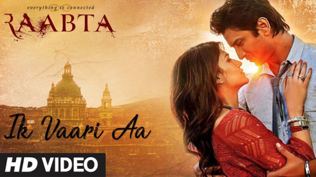 Bollywood, film, Raabta, Kriti Sanon, Sushant Singh rajput, song, India News