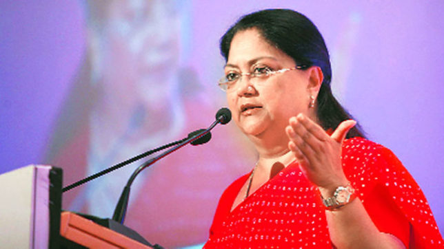 Rajasthan, Vasundhara Raje, Smart facilities, Smart Cities, Smart Villages, Develop, India News