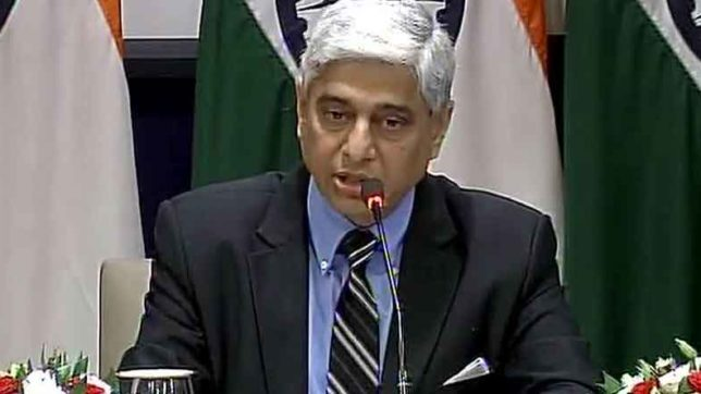 Vikas Swarup, MEA, Pakistan, india, Burhan wani, world, propaganda, external affairs, Internationally, Masood azhar