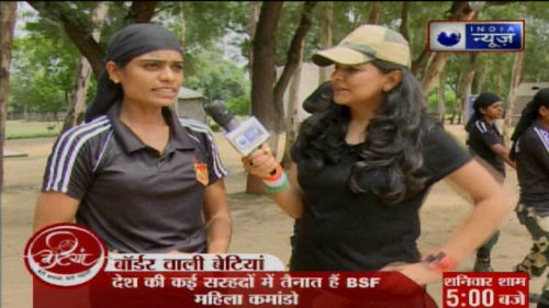 Betiyan with Richa Anirudh On Women BSF Commando