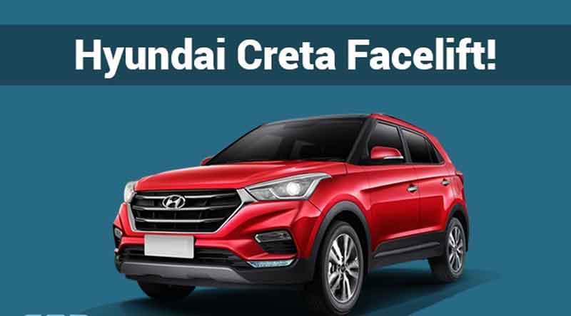 here see the first look of Facelift Hyundai Creta