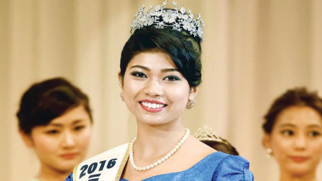 Priyanka Yoshikawa, MISS JAPAN, Beauty Contest, Japan