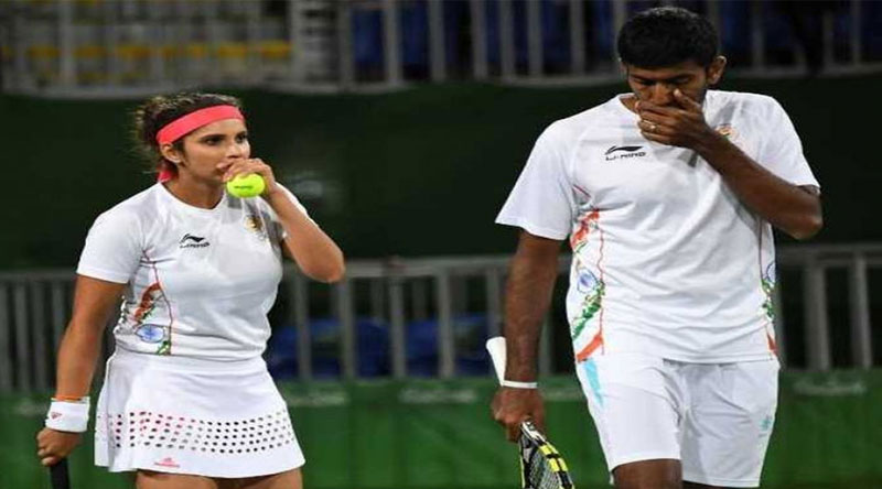 sania and rohan lost their semifinal match in rio olympic 2016
