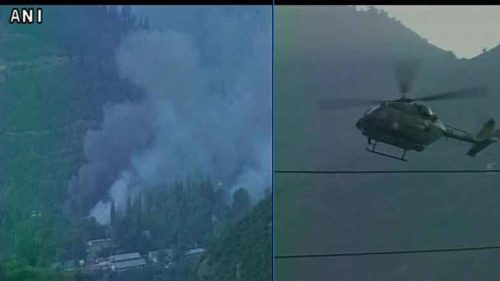 terror attack on army head quarter in uri sector near loc two policeman martyred