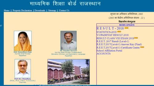 Rajasthan-RBSE-10th-Result-2018-declare-today-om-3-PM-at-www.rajeduboard.rajasthan.gov.in