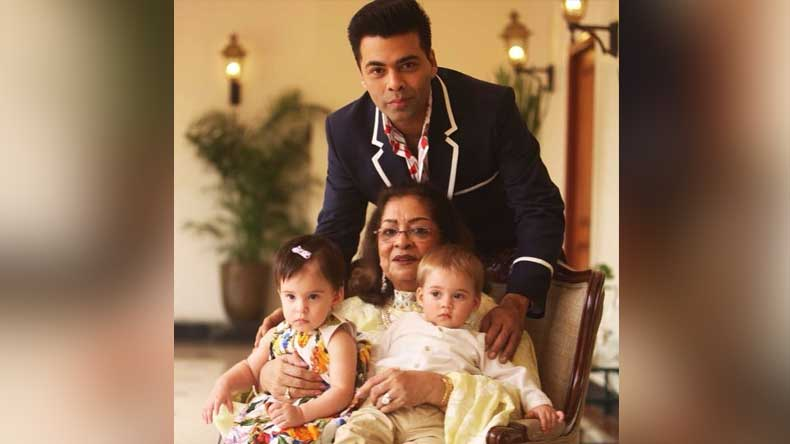 karan-johar-mother-and-his-child