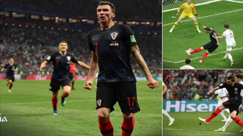 Croatia beat England by 2-1 reach their first ever FIFA World Cup final