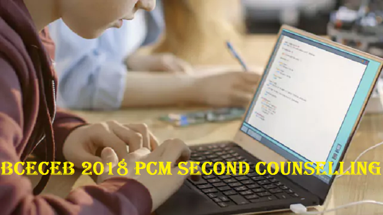 BCECEB 2018 PCM Second counselling