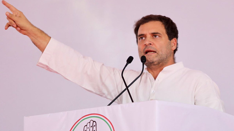 Congress president Rahul Gandhi attacks on PM Narendra Modi on Rafale scam