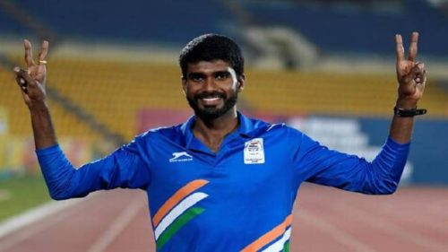 Jinson Johnson Wins GOLD Medal in 1500m
