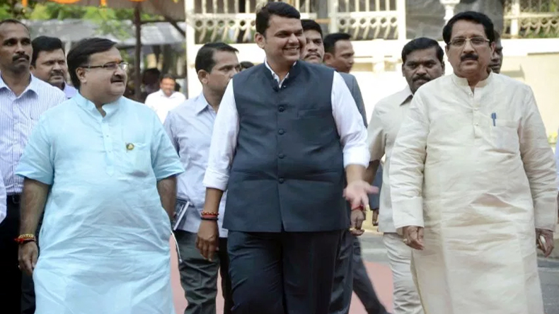 Maharashtra CM Devendra Fadnavis unfurls national flag Mumbai