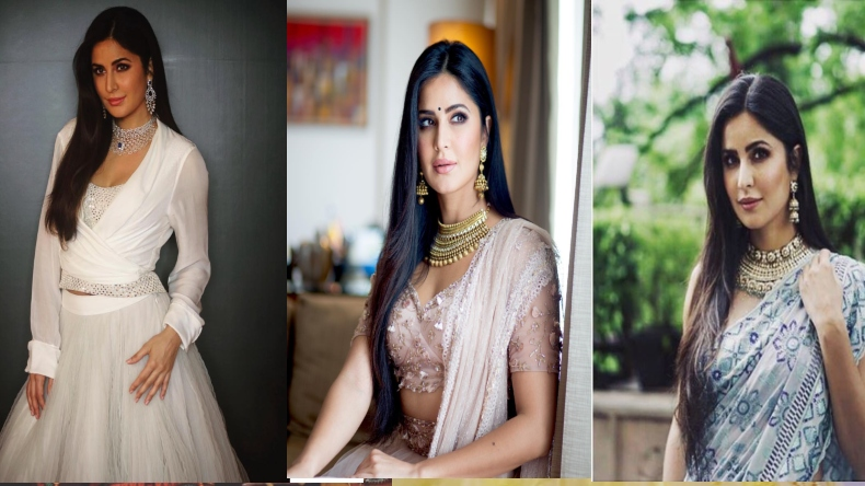 katrina kaif looks gorgeous in white lenhenga for kalyan jewllers (1)