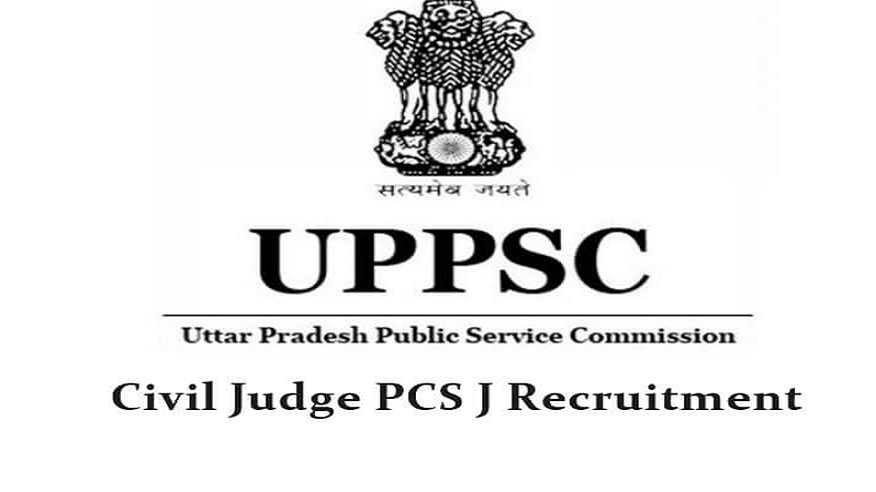 UPPSC Civil Judge Recruitment 2018