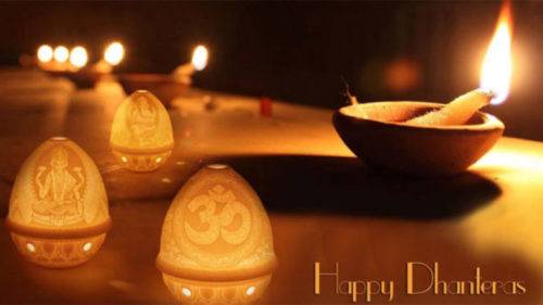 Happy Dhanteras messages and wishes in English for 2018