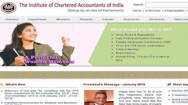 ICAI CA 2018 results