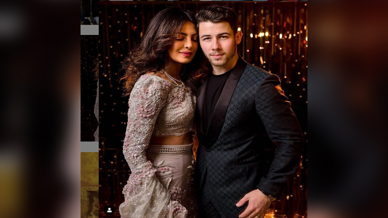 Nick Jonas Priyanka Chopra Cute Photo