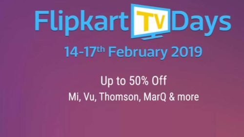 Flipkart TV Days Sale