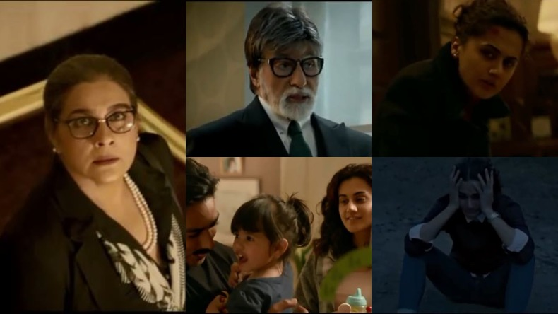 amitabh bachchan taapsee pannu badla trailer review