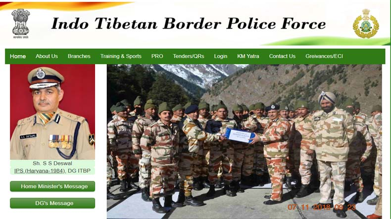 ITBP Job Notification 2019 How to Apply