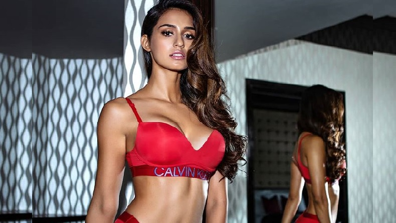 Bharat actress Disha Patani hot bikini photoshoot video viral on social media